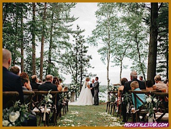 Photo de Mariage d'été chic et rustique dans les bois de Geneoh Photography