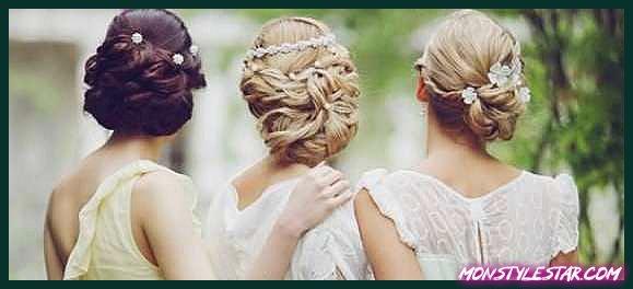 Photo de 20 coiffures de demoiselle d'honneur uniques