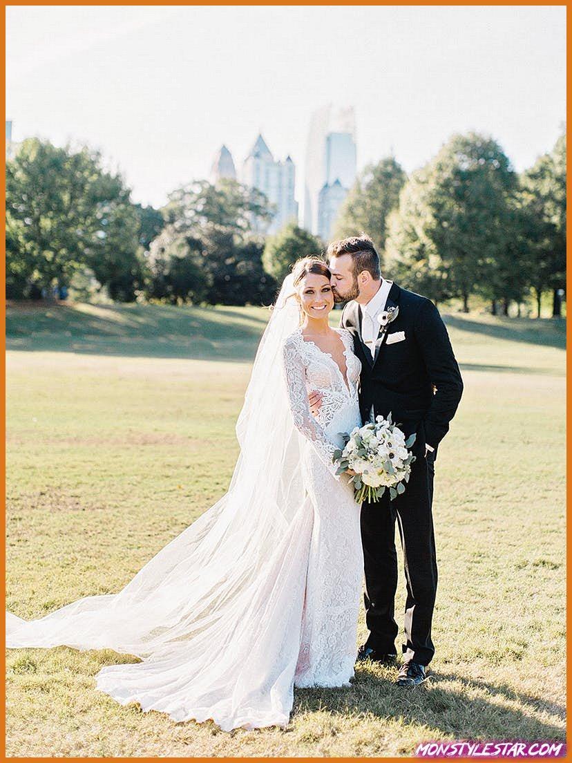 Mariage d'automne classique et moderne à Atlanta rempli de jolie verdure