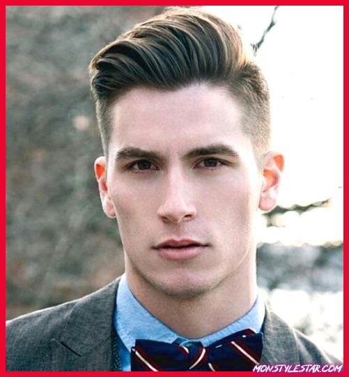Différent peigne sur les coiffures pour hommes