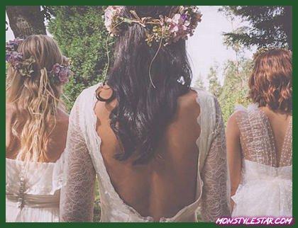 Photo de Robes de mariée bohème chic à la perfection