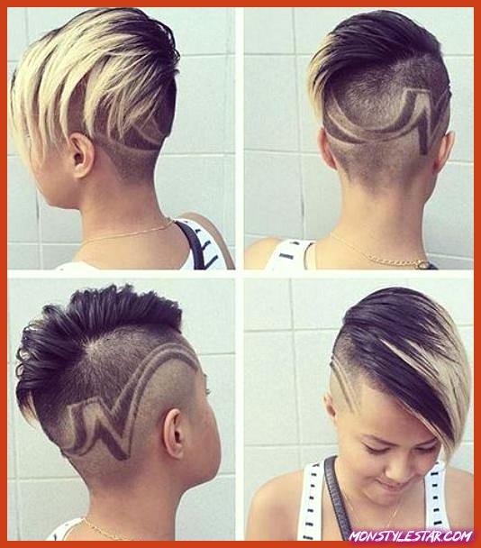 20 coiffures chics punk pile femmes
