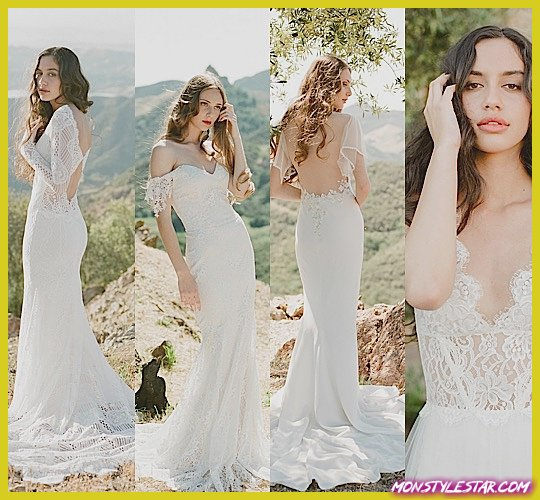 Photo of Claire Pettibone Robe de mariée Collection Vignoble Romantique