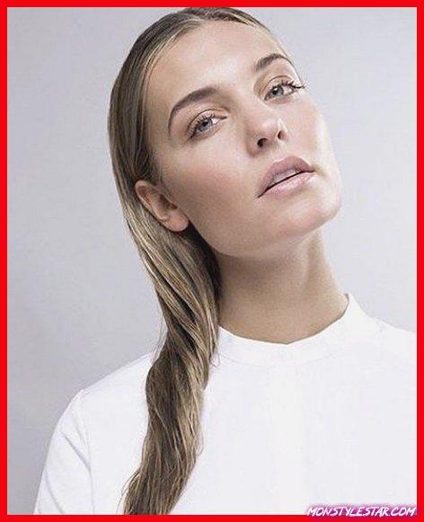 Photo de 15 coiffures humides élégantes