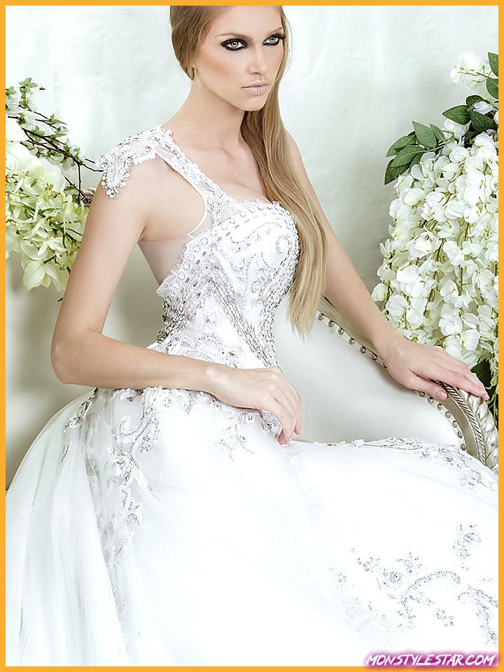 Dar Sara Robes de Mariée Collection 2014 avec Cristaux Swarovski Glamorous Partie I