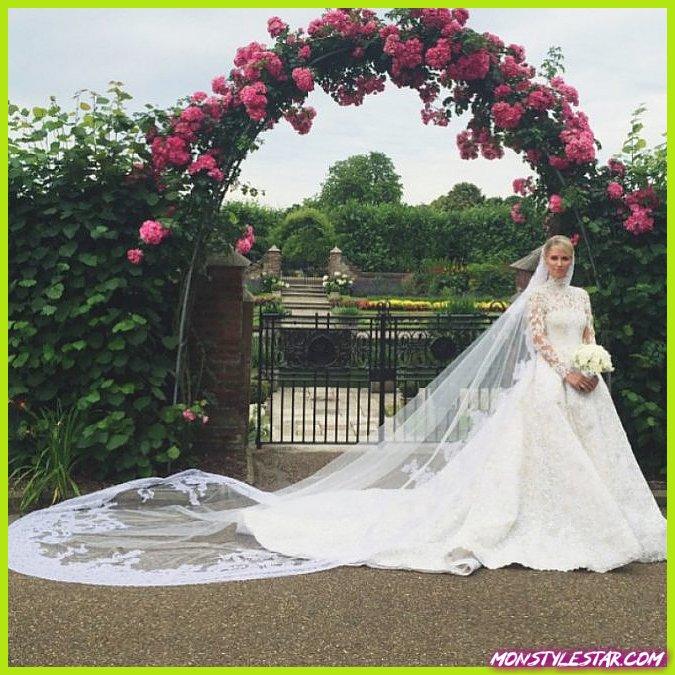 Photo de 15 robes de mariée de célébrités les plus chères