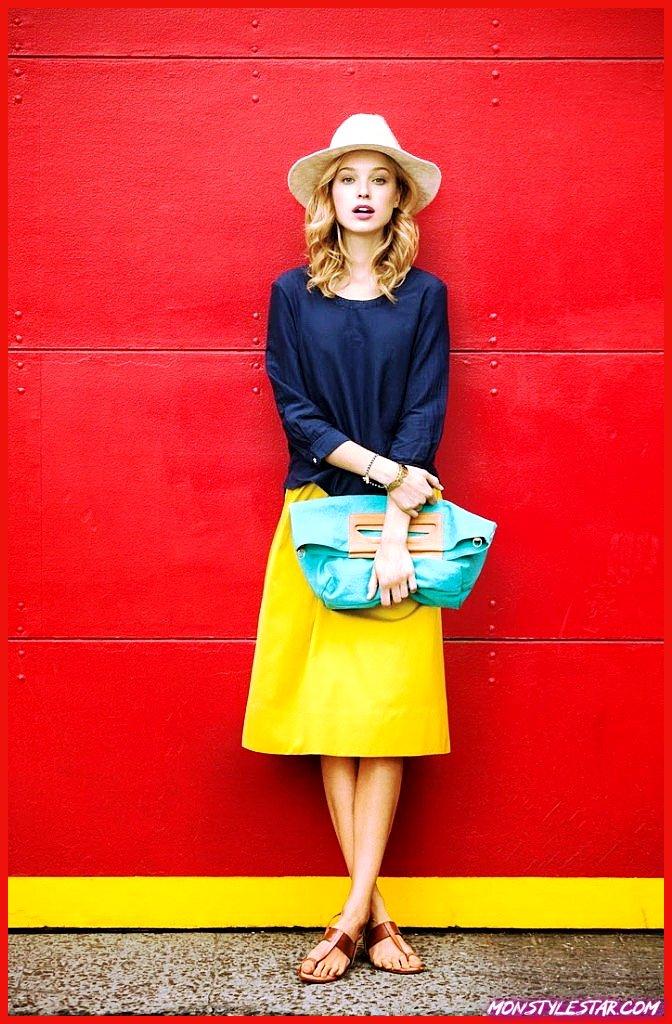 Photo de 20 belles idées de tenues de jupe en cuir à essayer