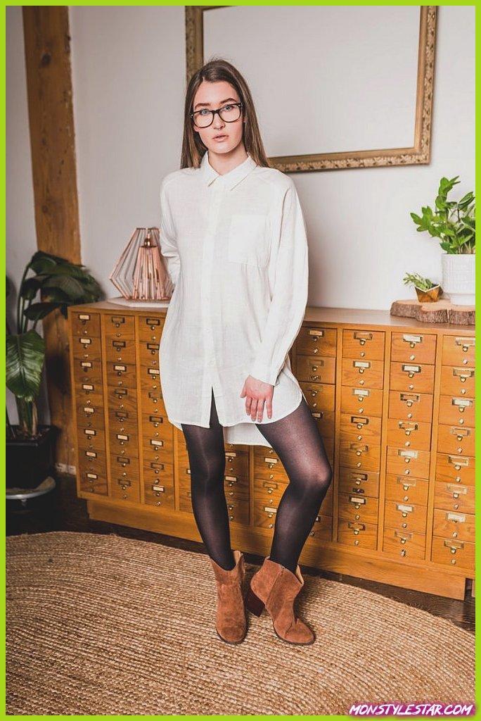 20 meilleures idées de tenue de chemise de petit ami à essayer