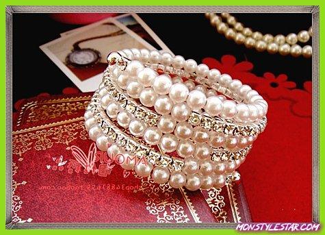 28 bracelets de perles les plus étonnants pour les mariées en 2020